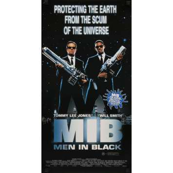 MEN IN BLACK Affiche de film 33x76 - 2001 - Will Smith