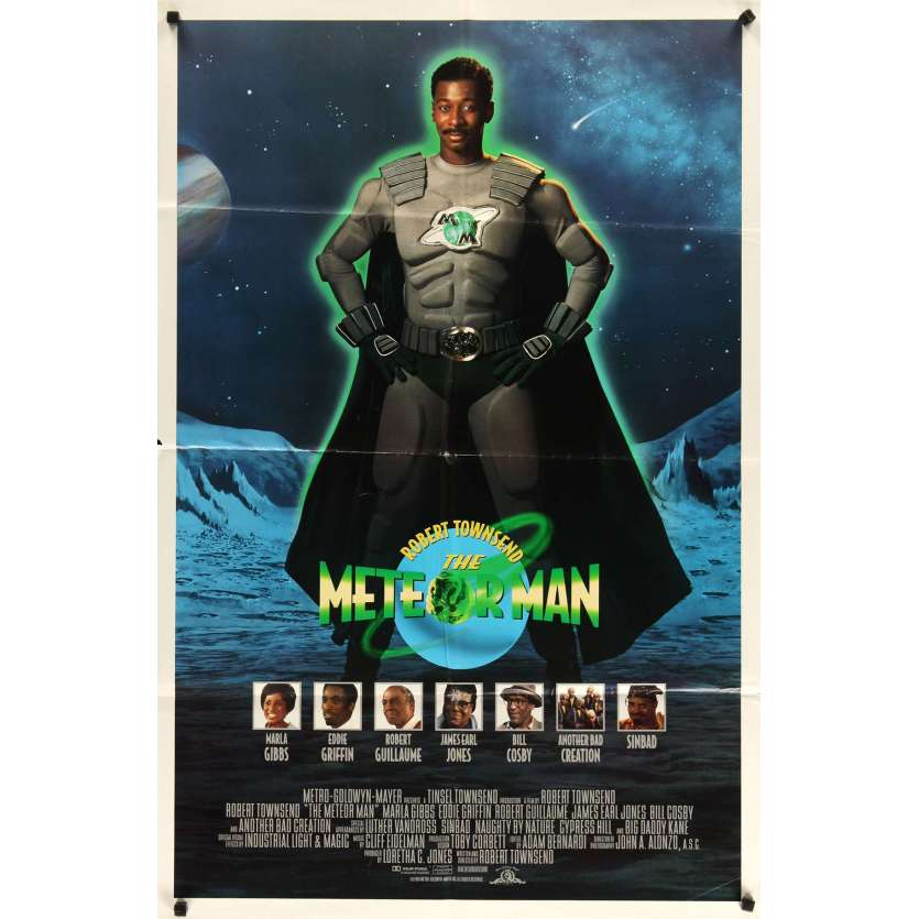 METEOR MAN Movie Poster '93