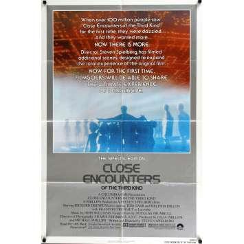 RENCONTRES DU 3E TYPE Affiche de film 69x104 - R1980- Richard Dreyfuss, Steven Spielberg