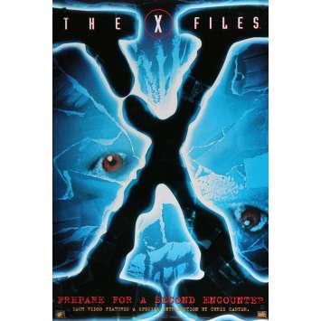 X-FILES Affiche Vidéo B 70x100 - 1996 - David Duchowny, Rob Bowman