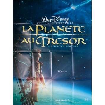 LA PLANETE AU TRESOR Affiche de film - 120x160 cm. - 2002 - Joseph Gordon-Levitt, Ron Clements