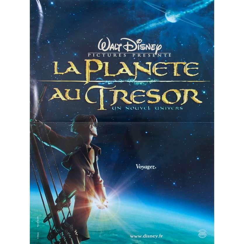 TREASURE PLANET Original Movie Poster - 15x21 in. - 2002 - Ron Clements, Joseph Gordon-Levitt