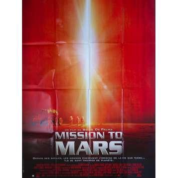MISSION TO MARS Affiche de film - 120x160 cm. - 2000 - Tim Robbins, Brian De Palma