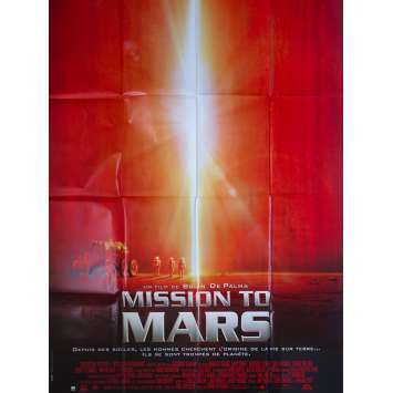 MISSION TO MARS Original Movie Poster - 47x63 in. - 2000 - Brian De Palma, Tim Robbins