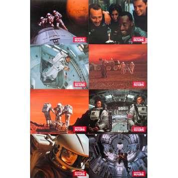 MISSION TO MARS Original Lobby Cards x8 - 9x12 in. - 2000 - Brian De Palma, Tim Robbins