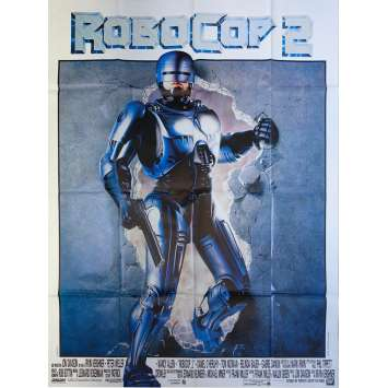 ROBOCOP 2 Original Movie Poster - 47x63 in. - 1990 - Irvin Kershner, Peter Weller