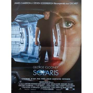 SOLARIS Original Movie Poster - 15x21 in. - 2002 - Steven Soderbergh, George Clooney