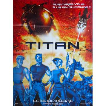 TITAN A.E. Original Movie Poster - 47x63 in. - 2000 - Don Bluth, Matt Damon, Drew Barrymore