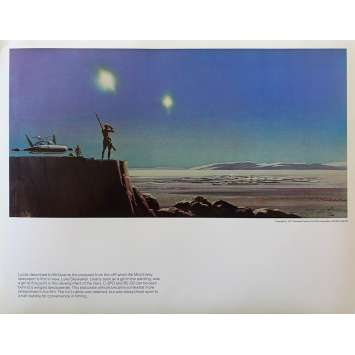 STAR WARS - A NEW HOPE Artwork Print N17 - 11x14 in. - 1977 - George Lucas, Harrison Ford