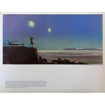 STAR WARS - LA GUERRE DES ETOILES Artwork N17 - 28x36 cm. - 1977 - Harrison Ford, George Lucas
