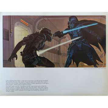 STAR WARS - LA GUERRE DES ETOILES Artwork N15 - 28x36 cm. - 1977 - Harrison Ford, George Lucas