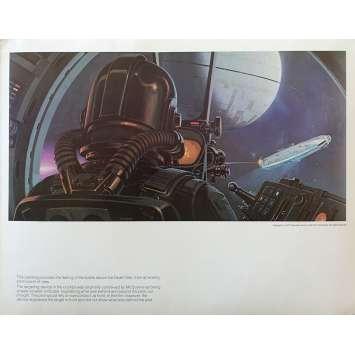 STAR WARS - LA GUERRE DES ETOILES Artwork N14 - 28x36 cm. - 1977 - Harrison Ford, George Lucas