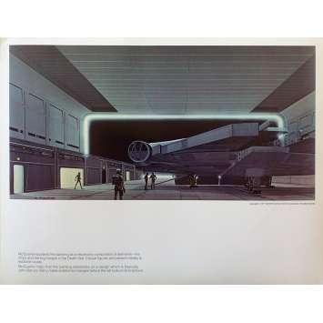STAR WARS - A NEW HOPE Artwork Print N11 - 11x14 in. - 1977 - George Lucas, Harrison Ford