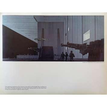 STAR WARS - LA GUERRE DES ETOILES Artwork N08 - 28x36 cm. - 1977 - Harrison Ford, George Lucas