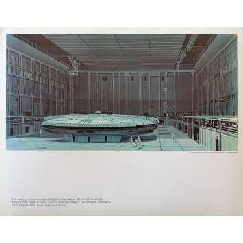 STAR WARS - LA GUERRE DES ETOILES Artwork N05 - 28x36 cm. - 1977 - Harrison Ford, George Lucas