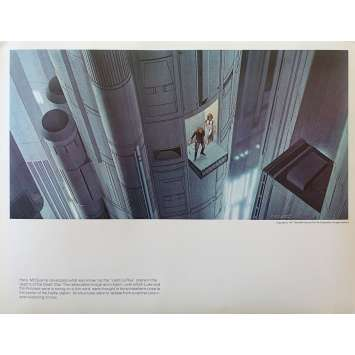 STAR WARS - LA GUERRE DES ETOILES Artwork N03 - 28x36 cm. - 1977 - Harrison Ford, George Lucas
