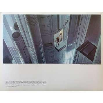 STAR WARS - LA GUERRE DES ETOILES Artwork N03 - 28x36 cm. - 1977 - Harrison Ford, George Lucas