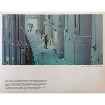 STAR WARS - A NEW HOPE Artwork Print N06 - 11x14 in. - 1977 - George Lucas, Harrison Ford