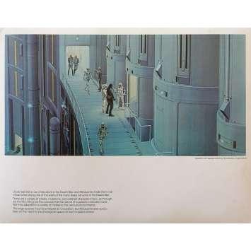 STAR WARS - LA GUERRE DES ETOILES Artwork N06 - 28x36 cm. - 1977 - Harrison Ford, George Lucas