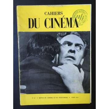 LES CAHIERS DU CINEMA Original Magazine N°021 - 1953 - Murnau