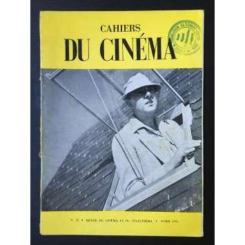 LES CAHIERS DU CINEMA Magazine N°022 - 1953 - Jacques Tati