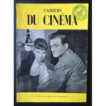 LES CAHIERS DU CINEMA Original Magazine N°032 - 1954 - Lino Ventura, Jeanne Moreau