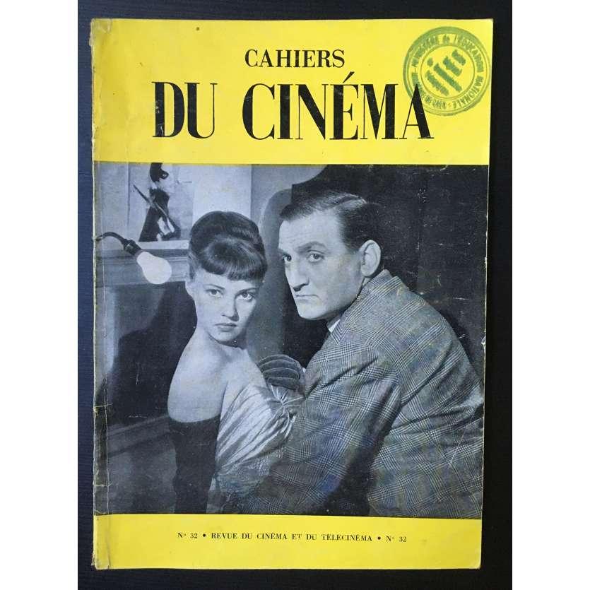 LES CAHIERS DU CINEMA Magazine N°032 - 1954 - Lino Ventura, Jeanne Moreau