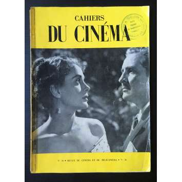 LES CAHIERS DU CINEMA Magazine N°036 - 1954 - Luis Bunuel