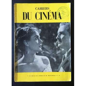 LES CAHIERS DU CINEMA Original Magazine N°036 - 1954 - Luis Bunuel
