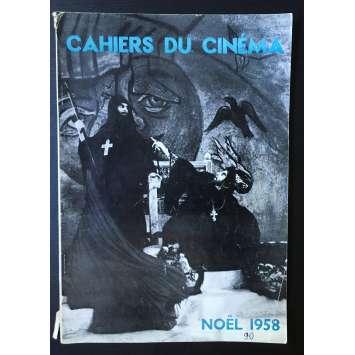 LES CAHIERS DU CINEMA Original Magazine N°090 - 1958 - Eisenstein