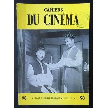 LES CAHIERS DU CINEMA Original Magazine N°098 - 1959 - Mizoguchi