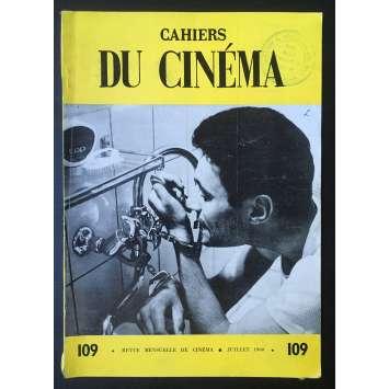 LES CAHIERS DU CINEMA Magazine N°109 - 1960 - Jean Cocteau