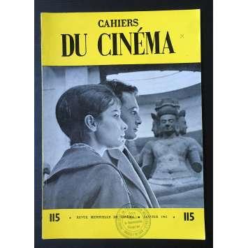 LES CAHIERS DU CINEMA Magazine N°115 - 1961 - Mocky
