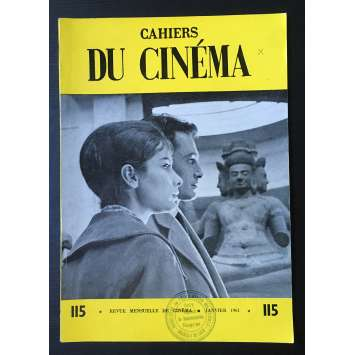LES CAHIERS DU CINEMA Original Magazine N°115 - 1961 - Mocky