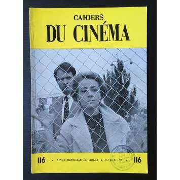 LES CAHIERS DU CINEMA Original Magazine N°116 - 1961 - Annie Girardot