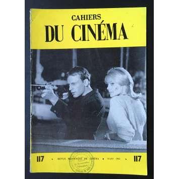 LES CAHIERS DU CINEMA Magazine N°117 - 1961 - Jean-Louis Trintignant
