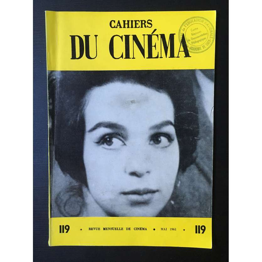LES CAHIERS DU CINEMA Magazine N°119 - 1961 - John Cassavetes