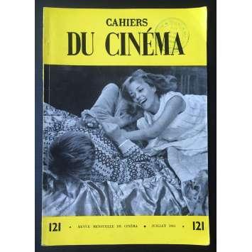 LES CAHIERS DU CINEMA Magazine N°121 - 1961 - Jeanne Moreau