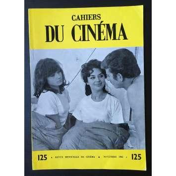 LES CAHIERS DU CINEMA Magazine N°125 - 1961 - Jacques Rozier