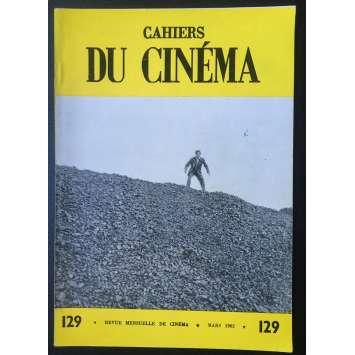 LES CAHIERS DU CINEMA Magazine N°129 - 1962 - Roger Planchon