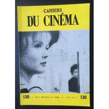 LES CAHIERS DU CINEMA Magazine N°130 - 1962 - Elia Kazan, Buster Keaton