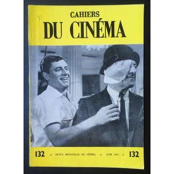 LES CAHIERS DU CINEMA Original Magazine N°132 - 1962 - Jerry Lewis