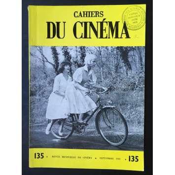 LES CAHIERS DU CINEMA Original Magazine N°135 - 1962 - Henri Langlois