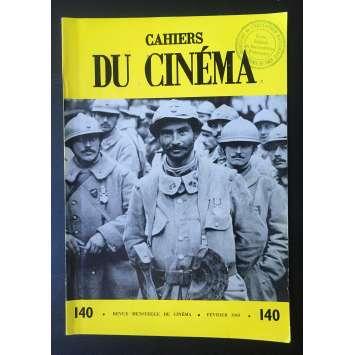 LES CAHIERS DU CINEMA Original Magazine N°140 - 1963 - Robert Bresson
