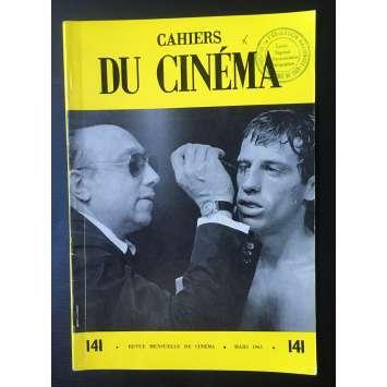 LES CAHIERS DU CINEMA Magazine N°141 - 1963 - Belmondo, Melville