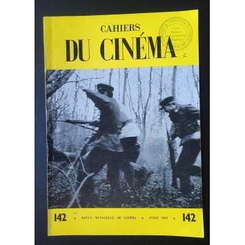 LES CAHIERS DU CINEMA Magazine N°142 - 1963 - Chaplin, Fuller