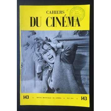 LES CAHIERS DU CINEMA Original Magazine N°143 - 1963 - Alfred Hitchcock