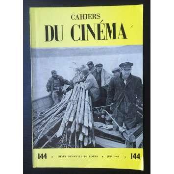 LES CAHIERS DU CINEMA Magazine N°144 - 1963 - Jean Rouch