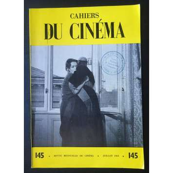 LES CAHIERS DU CINEMA Original Magazine N°145 - 1963 - Preminger, Rosselini