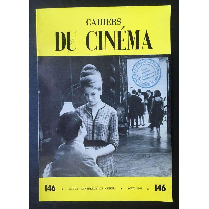 LES CAHIERS DU CINEMA Magazine N°146 - 1963 - Jean-Luc Godard